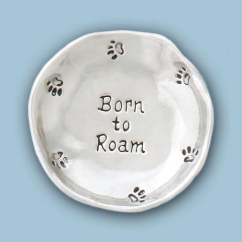 Born to Roam Large Charm Bowl