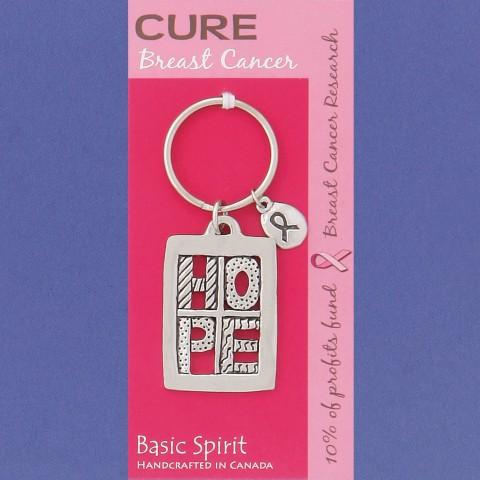 HOPE Breast Cancer Global Keychain